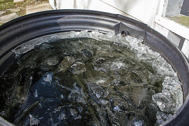 frozen-rainwater