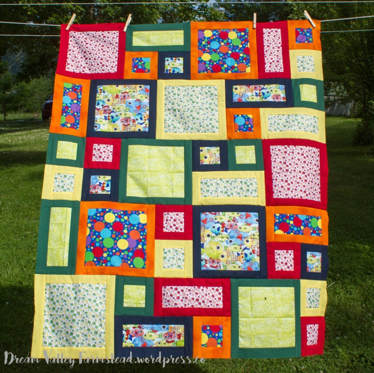 quilt top all about me